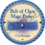 Belt of Ogre Mage Power