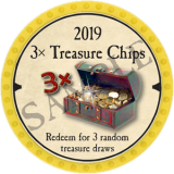 (OLD, Unusable) 3x Treasure Chips (2019)