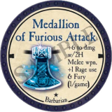 Medallion of Furious Attack