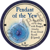 Pendant of the Yew