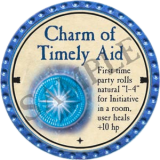 Charm of Timely Aid