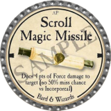 Scroll Magic Missile
