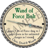 Wand of Force Bolt
