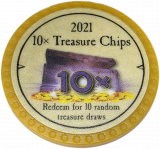 10x Treasure Chips 2021