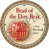 Bead of the Dire Bear