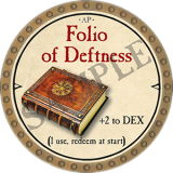 Folio of Deftness