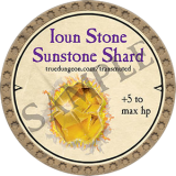 Ioun Stone Sunstone Shard