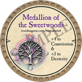 Medallion of the Sweetwoods