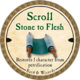 Scroll Stone to Flesh