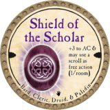 Shield of the Scholar