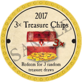 (OLD, Unusable) 3x Treasure Chips (2017)