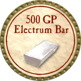 (OLD, Unusable) 500 GP Electrum Bar