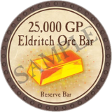 25,000 GP Eldritch Ore Bar