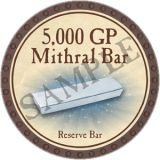 5,000 GP Mithral Bar