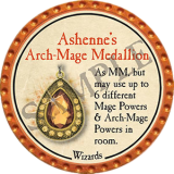 Ashenne's Arch-Mage Medallion