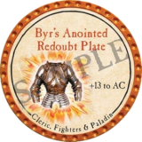 Byr's Anointed Redoubt Plate