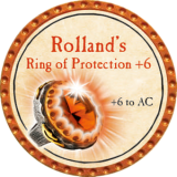 Rolland's Ring of Protection +6