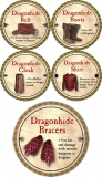 Dragonhide Set (5 rare volunteer tokens)