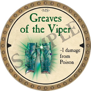 Greaves of the Viper
